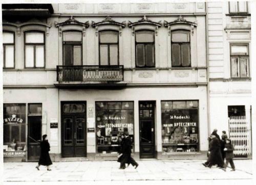 Krakowskie Przedmieście 46 to tutaj zginął podczas bombardowania Józef Czechowicz