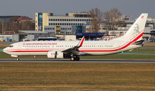 Najnowszy samolot Polskiego rządu