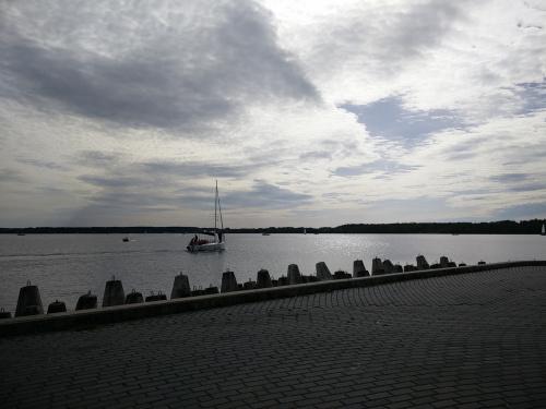 Nad jeziorem Niegocin