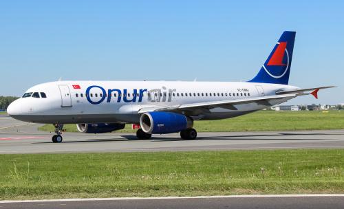 Onur Air - Turecka Linia Lotnicza, która od niedawna odwiedza Polskę