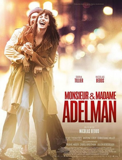 Pan i pani Adelman / Mr  Mme Adelman (2017) PL.BDRip.XviD-KiT / Lektor PL