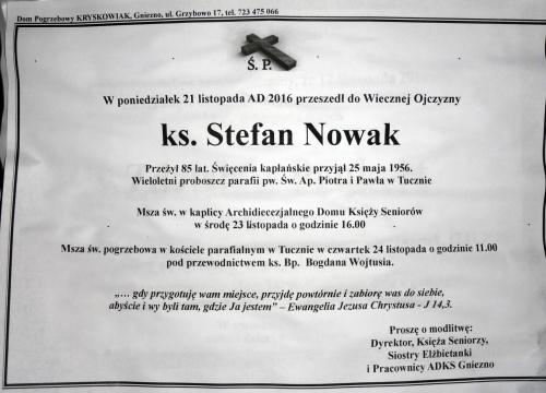 Ks. Adam Nowak