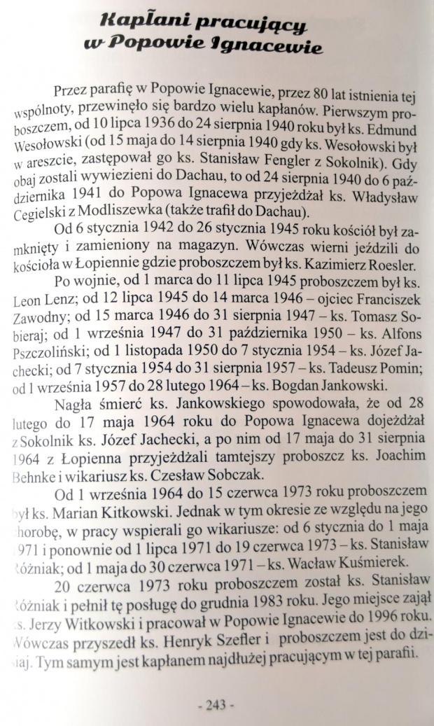 Kapłani w Popowie Ignacenie Skarb Dziedzica Gniezno 2016 Karol Soberski #Soberski #ksiądz #Popowo #Ignacewo