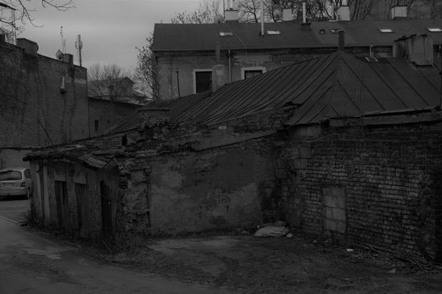 centrum Lublina od podwórka