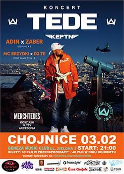 Koncert TEDE – Chojnice 03.02.2017