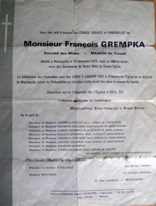 Grempka Francja