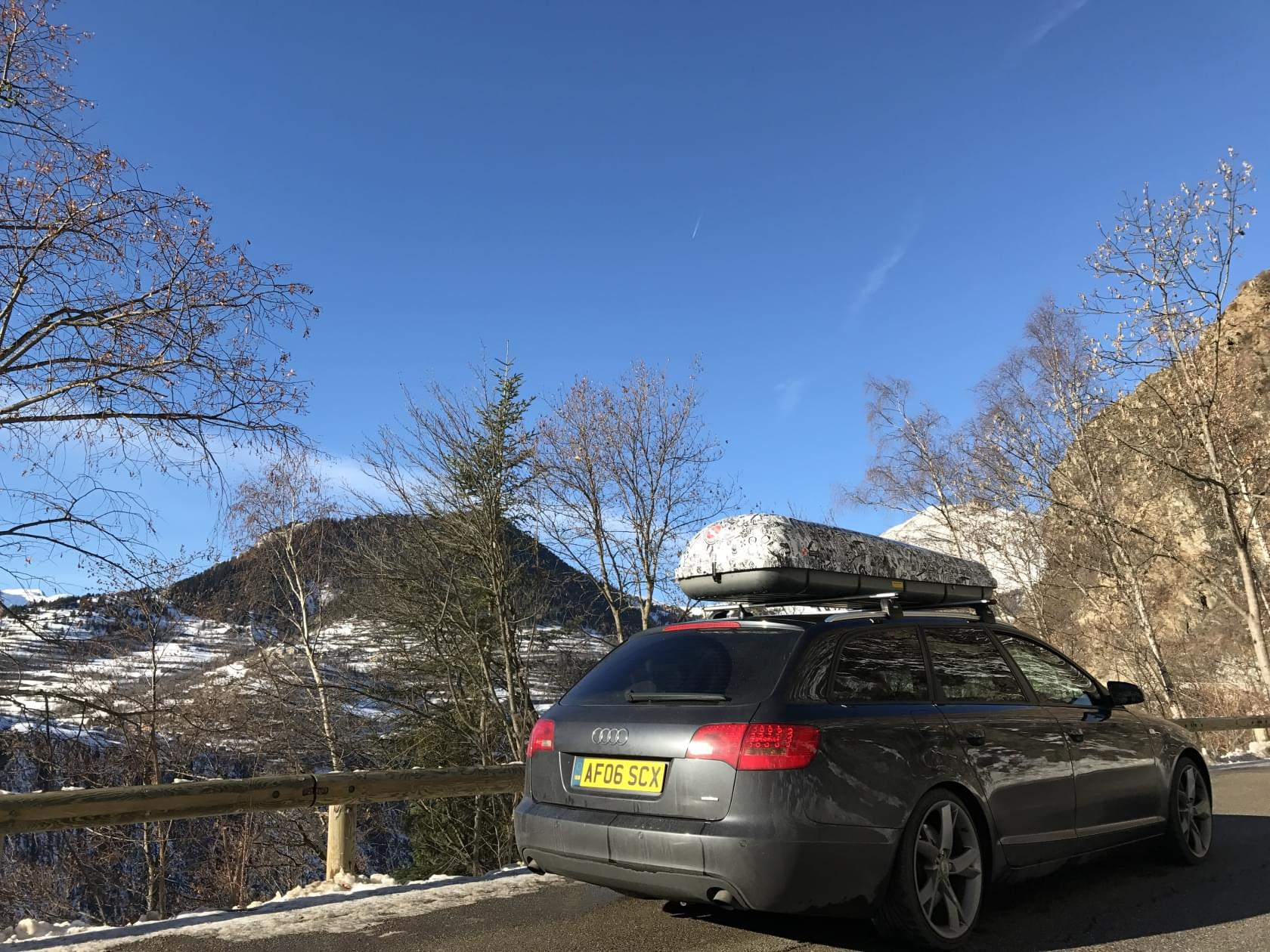 A6c6 Box Bagaznik Na Dach 460 Interpack Bedzie Ok Forum Audi A6 A7 Klub Polska