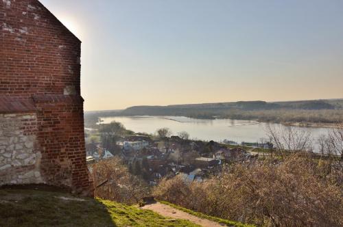 Kazimierz Dolny widok ze Wzgórza Zamkowego