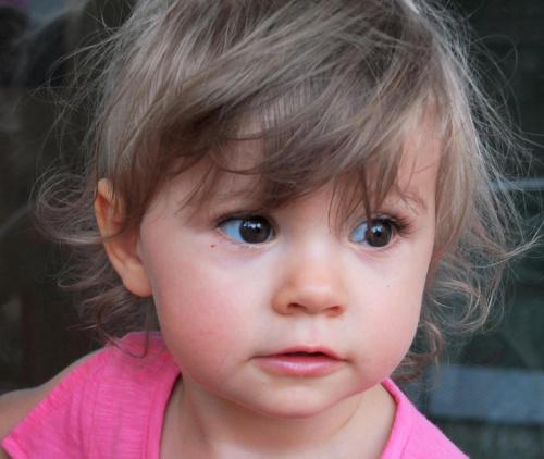 Przedstawiam - moja wnuczka Maja