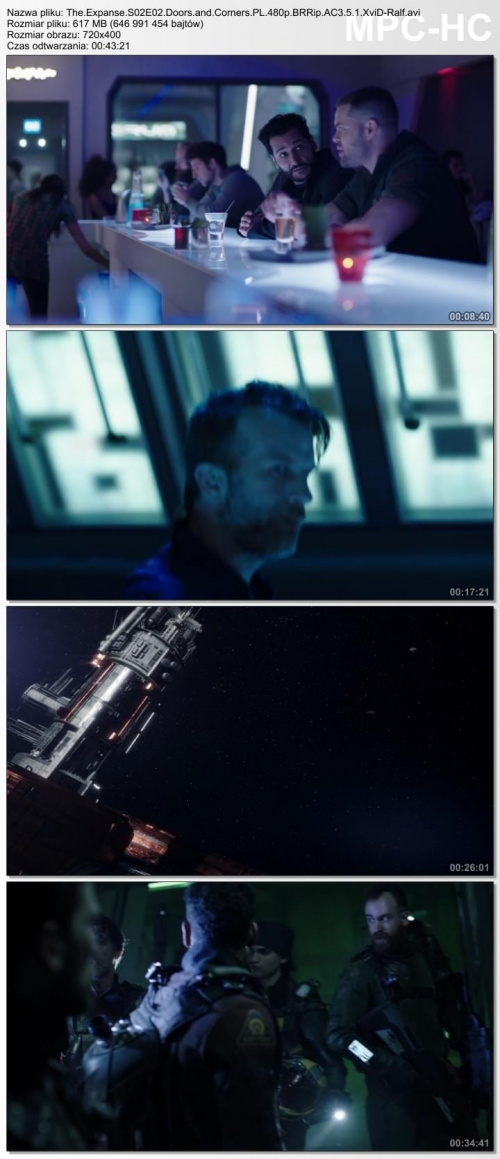 The Expanse {Kompletny sezon 2} (2017) PL.480p.BRRip.AC3.5.1.XviD-Ralf / Lektor PL