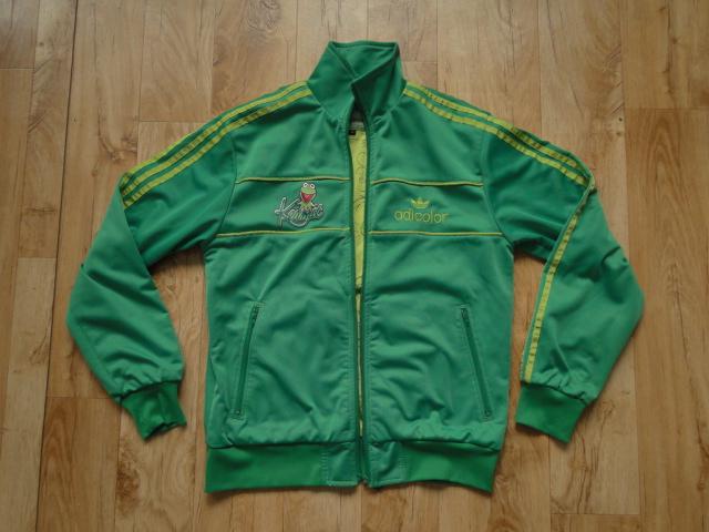 adidas adicolor kermit jacket