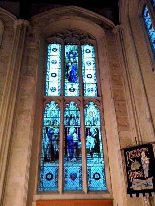 Witraże katedra Rochester