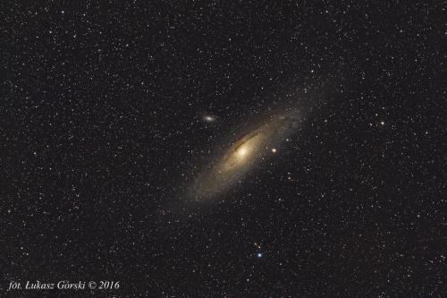 Sięgaj tam gdzie wzrok nie sięga ... ;) #astrofoto #galaktyka #Andromedy #M31
