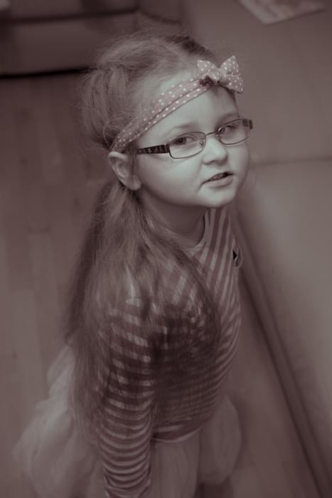 Gabi moja modelka :)