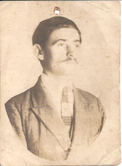 Vasil Levchenko Prowincji Kijów Okręg Zvenigorod volost' Gusakowski Wieś Olhovets (Vilhivets)