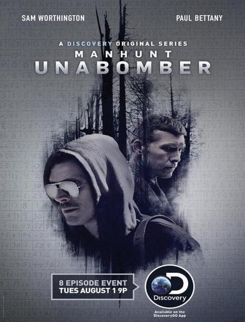 Manhunt Unabomber {Kompletny sezon 1} (2017) PL.480p.NF.WEBRip.DD5.1.XviD-H3Q / Lektor PL