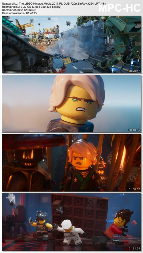 Lego Ninjago Film The Lego Ninjago Movie 2017 Pl Dub720p