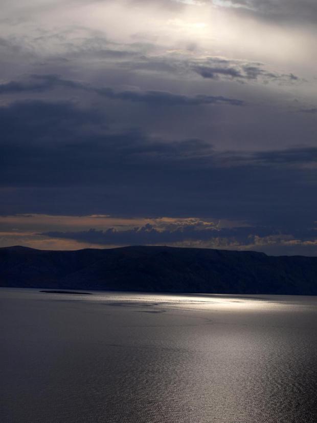 Senj widok na wyspę Krk :-)