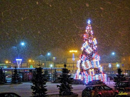 ..sypnęła zima śniegiem
