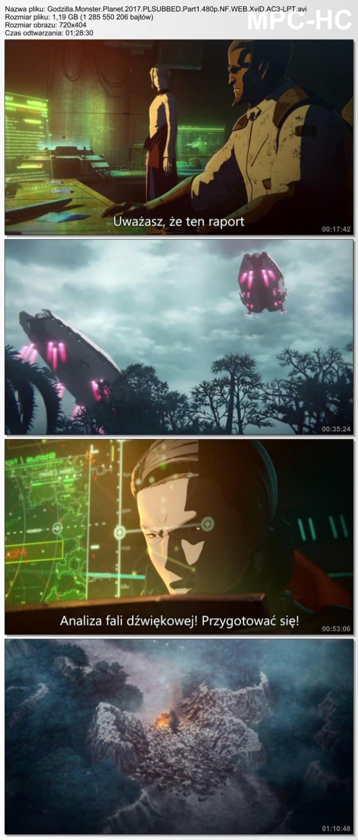 Godzilla: Planeta Potworów / Godzilla: Monster Planet - Part 1 (2017)