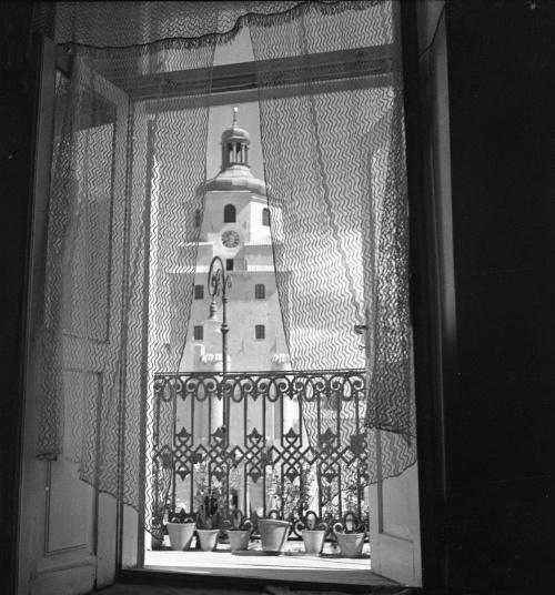 zdjęcie E.Hartwiga z 1954